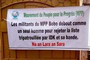 MPP Houet: des militants rejettent la composition du bureau