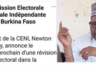 Referendum 2019 : Qui de la CENI et du MATD est autorisé à annoncer les opérations électorales ? Vers une grosse bourde de Newton…?
