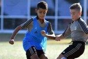 Le fils de Cristiano Ronaldo s'entraine à la Juventus
