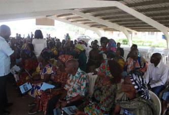 Côte d'Ivoire/Port-Bouet: Le Dr EMMOU Sylvestre vole au secours des personnes du troisième âge