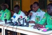 Conférence de presse de l'UPC:Déclaration liminaire