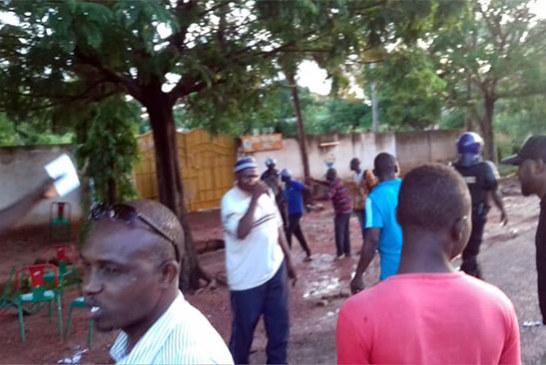 Burkina Faso: Bagarre généralisée au siège du MPP Houet, des militants dispersés par gaz lacrymogène par la CRS