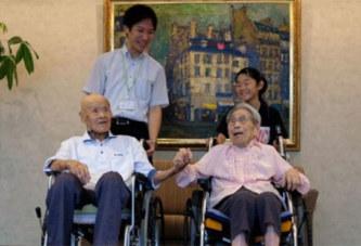 Le couple le plus vieux du monde est japonais