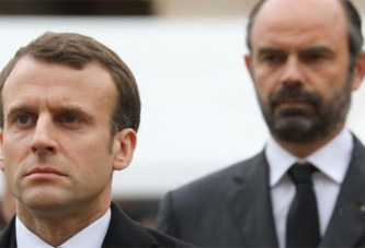 Les cotes de popularité d'Emmanuel Macron et Édouard Philippe en baisse, au plus bas depuis mai 2017