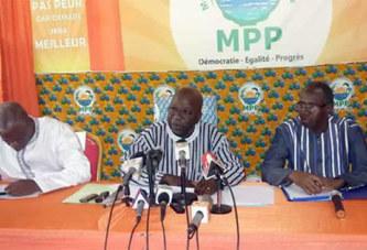 Insécurité au Burkina Faso : Le MPP accuse des dignitaires du régime passé de dessein de déstabilisation du pays pour des fins de revanche et de vengeance