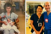 Une infirmière devient collègue avec un bébé prématuré qu'elle a soigné il y a 28 ans