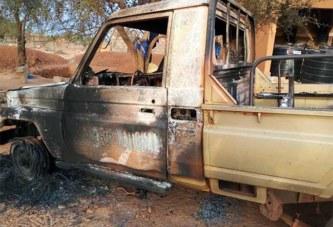Images de l'attaque de la gendarmerie de Djibo