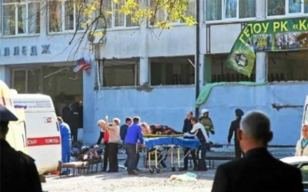 Crimée : Un élève provoque un carnage dans son collège, 18 morts