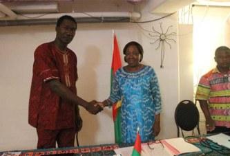 Conseil supérieur des Burkinabè de l'extérieur: Gaëtan Ouédraogo officiellement installé comme représentant des Burkinabè de trois pays