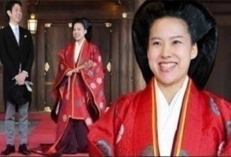 Japon : Une princesse renonce à son statut royal pour épouser un roturier