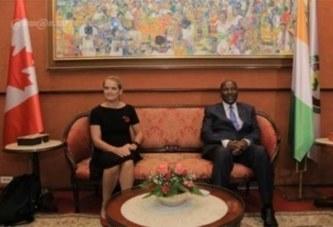 Arrivée à Abidjan de Julie Payette, Gouverneure Générale du Canada