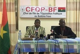 Burkina Faso: L'opposition insiste et réclame de nouveau,  le départ des ministres de la sécurité et de la défense