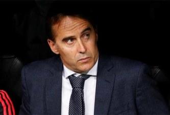 Real Madrid : Lopetegui limogé, Solari pour l'intérim