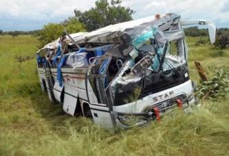 Commune de Bouroum-Bouroum: Un mort et 22 blessés dans un accident de la route