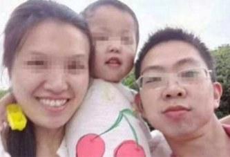 Il met en scène son suicide, sa femme effondrée de chagrin se tuent avec leurs 2 enfants