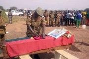 Attaque d'Inata: le gendarme Frédéric Kaboré décoré de la médaille d'honneur militaire à titre posthume