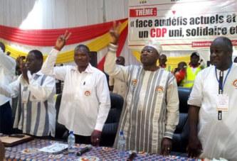 Rentrée politique du CDP : Blaise Compaoré longuement ovationné par les participants