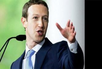Facebook: Les actionnaires demandent sa démission, Mark Zuckerberg réagit!