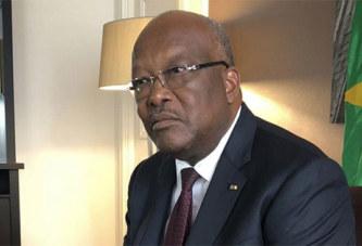 Roch Marc Christian Kaboré:«Si le Burkina Faso tombe, le terrorisme peut atteindre la côte et atteindre l'Europe»