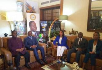 Côte d'Ivoire : Guillaume Soro à Daoukro, « je suis là pour bénéficier des conseils du président Bédié