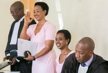 Rwanda : le parquet va faire appel de l`acquittement de Diane Rwigara