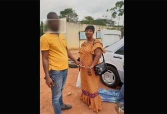 Côte d'Ivoire : Prise en chasse par la police, une femme en provenance du Ghana arrêtée avec plus de 120 kgs de cannabis dissimulés dans son véhicule