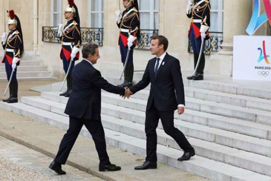 France: Emmanuel Macron a chargé Nicolas Sarkozy de le représenter à l'investiture de la présidente géorgienne