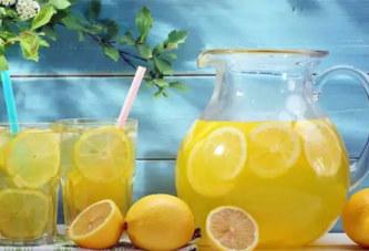 Buvez de l'eau au citron le matin, c'est un moyen efficace pour traiter plusieurs maladies