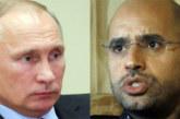 Présidentielle en Libye: La lettre denSaïf Kadhafi à Vladimir Poutine