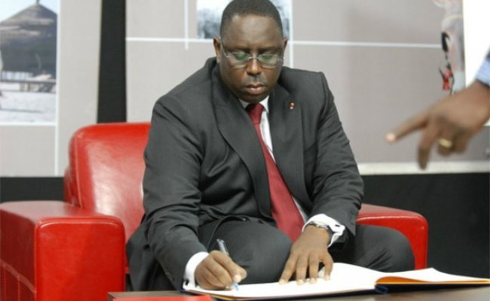 Présidentielle 2019 : Macky Sall a déposé sa candidature
