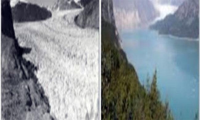 La fonte des glaciers est devenu beaucoup trop rapide !