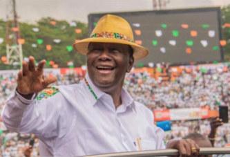 A propos d'un 3è mandat: Alassane Ouattara souhaite que sa succession soit assurée par une «équipe»