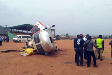 Nigeria : Présidentielle 2019, le VP Osinbajo sort indemne d'un accident d'hélicoptère à Kogi