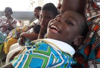 Côte d'Ivoire/ Enfants handicapés moteurs : Un appel à chacun ; » Apportez ce que vous pouvez pour aider ces enfants»