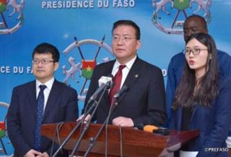 La coopération bilatérale entre la Chine et le Burkina sera davantage fructueuse (Vice-ministre chinois)
