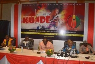 Kundé d'or 2019: Floby, Maï Lingani et Nabalum, nominés