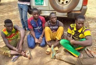 Guinée : Arrestation de 5  orpailleurs burkinabè utilisant le cyanure