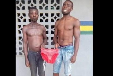 Nigeria: 2 hommes arrêtés alors qu'ils se battaient pour des dessous de femmes