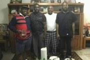 Photos: Les deux fils du président Thomas Sankara en date du 13 avril 2019