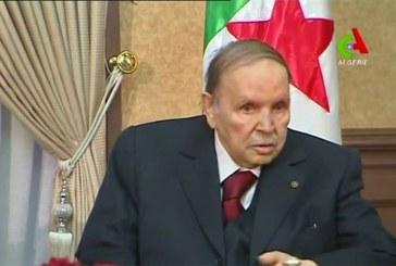 Algérie: le président Abdelaziz Bouteflika va démissionner avant le 28 avril (agence officielle)