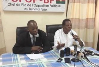 Lettre de l'ex président Compaoré : l'Opposition invite à rendre publique l'intégralité de la correspondance