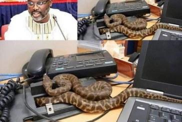Liberia : Georges Weah « chassé » de la Présidence par des serpents