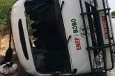 Accident d'un car de l'ENEP de Bobo-Dioulasso avec à son bord des élèves du lycée Ouezzin Coulibaly