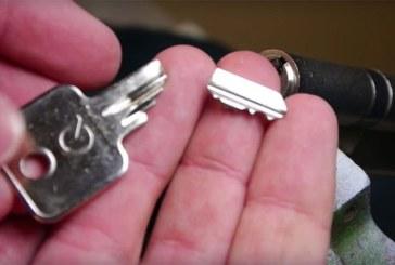 Voici comment retirer une clé cassée d'une serrure