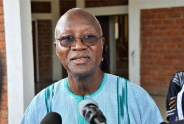 Burkina Faso: Le Premier ministre Christophe Joseph Marie Dabiré aux obsèques de Amadou Gon Coulibaly
