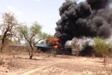 Burkina: incendie dans un dépôt de carburant à Fada