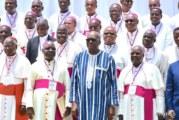 3e Assemblée plénière des évêques de l'Afrique de l'ouest : Le président du Faso appelle à l'union sacrée contre le terrorisme.