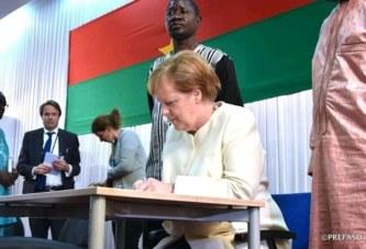 Merkel aux Burkinabè : «Il ne faut jamais croire qu'une ethnie est supérieure à une autre»