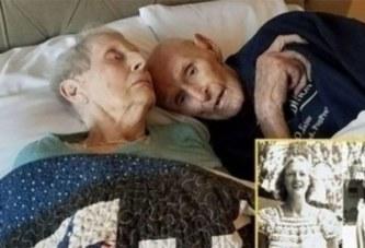 Après 70 ans de mariage, ce couple décède le même jour