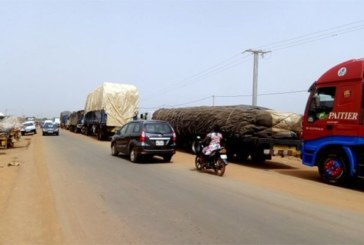 Blocage aux entrées de Ouaga: les chauffeurs exigent l'ouverture de la circulaire